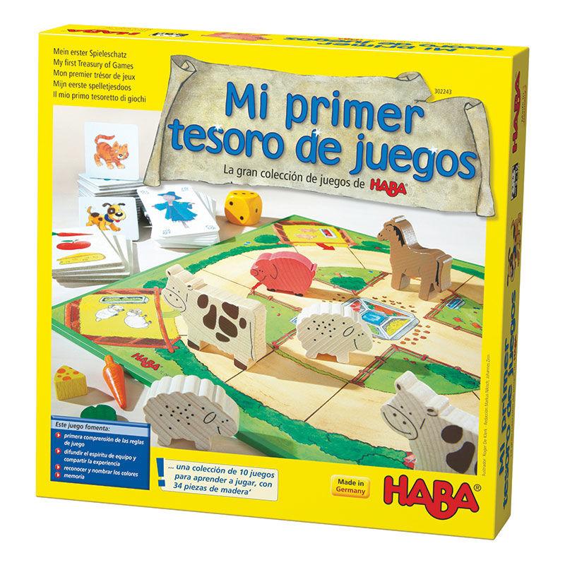MI PRIMER TESORO LA GRAN COLECCION DE JUEGOS DE HABA R: 302243