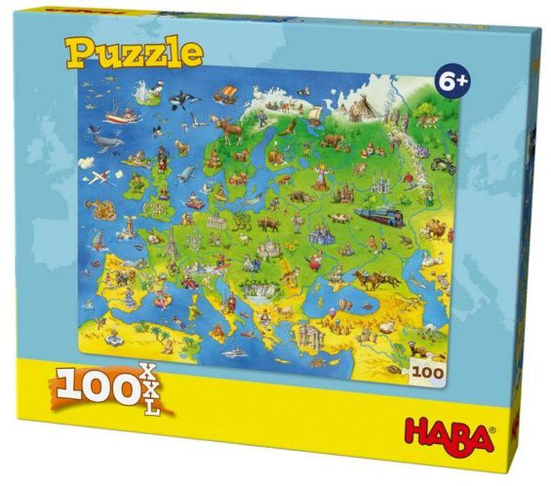 Puzzle Paises De Europa -