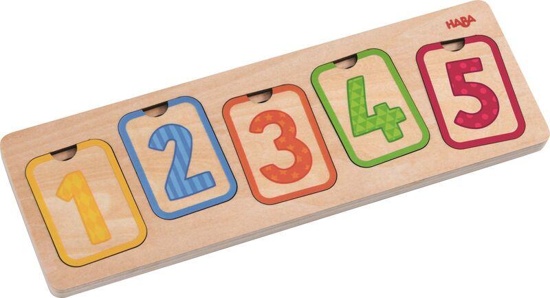 Puzzle De Madera Los Primeros Numeros -