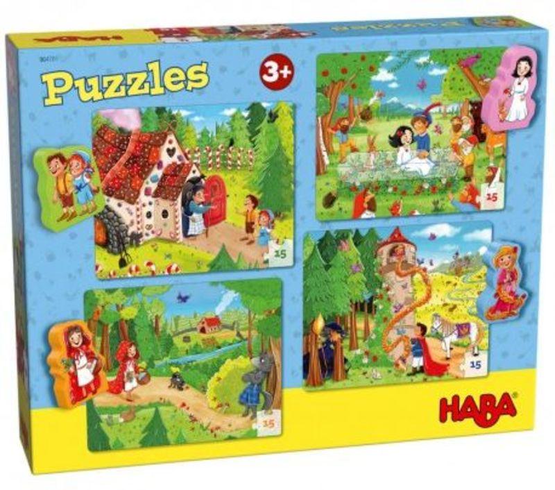 Puzzles Mundo De Los Cuentos -