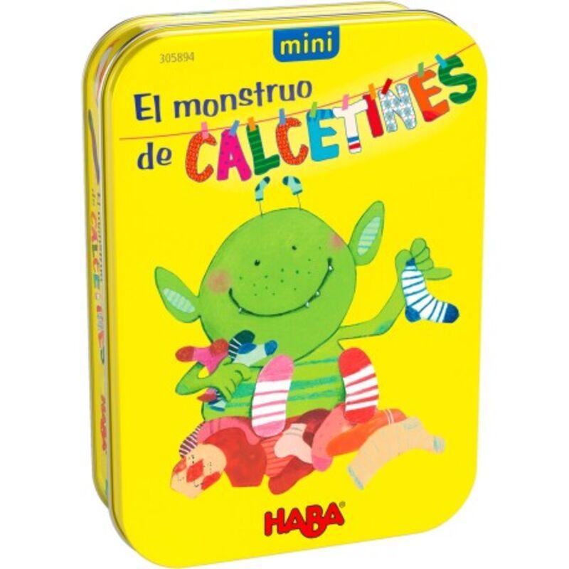 el monstruo de los calcetines - mini -