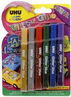 Blister 6 Glitter Glue Original R: 39017 -