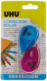 BLISTER / 2 ROLLER CORRECTOR MINI COLOR UHU R: 36626