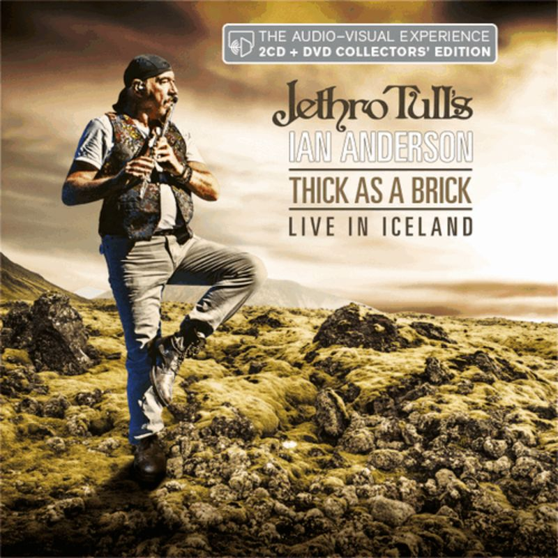 THICK AS A BRICK - LIVE IN ICELAND (2 CD+DVD) * JETHRO TULL'S IAN AND