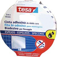 Cinta Adhesiva Doble Cara 19mmx5m Extrafuerte Espejos R: 55733 -