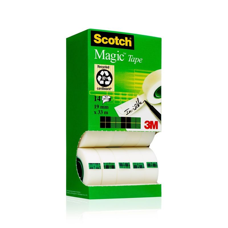 EXP / 10+4 CINTA ADH. SCOTCH MAGIC 33X19 R: 810PCK14