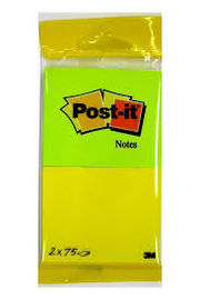 POST -IT GAMA ENERGY AMARILLO VERDE NEON REF: 6720YG