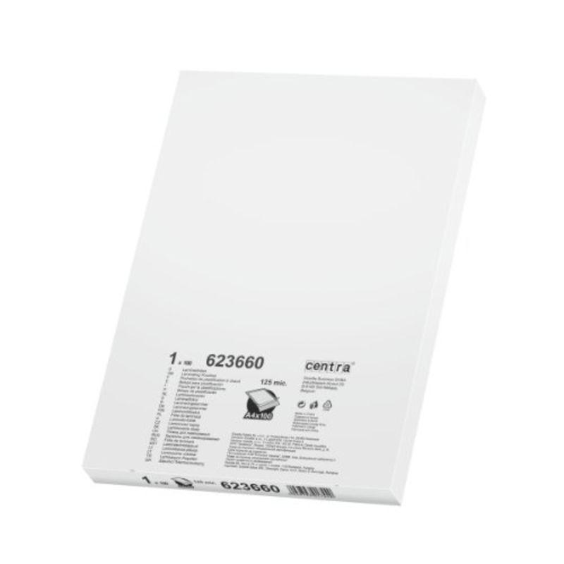 C / 100 BOLSAS PLASTIFICAR 125 MICRAS A4 R: 623660