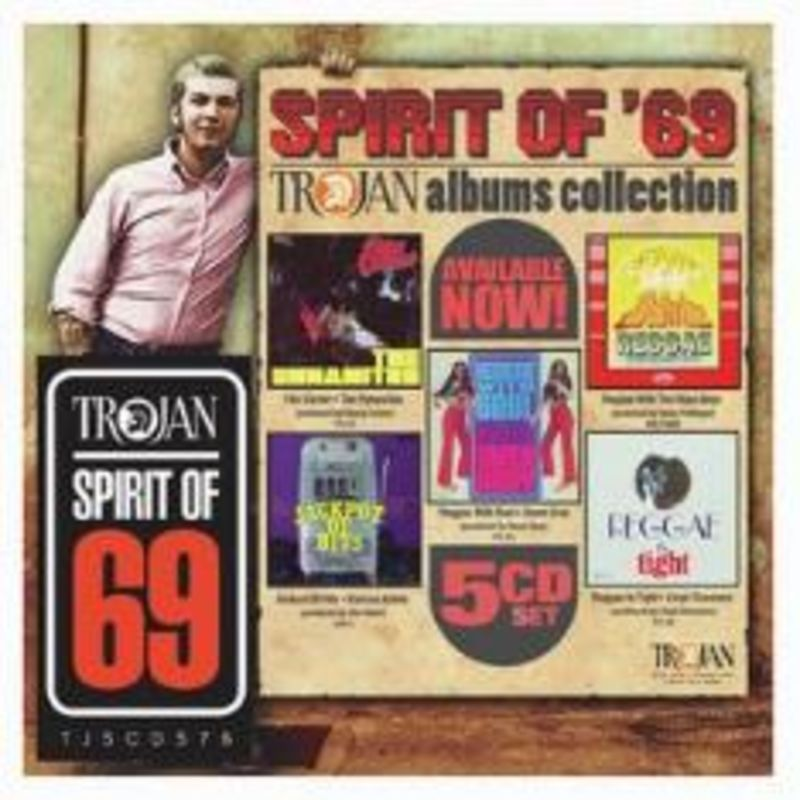SPIRIT OF 69: THE TROJAN ALBUMS COLLECTION (5 CD)