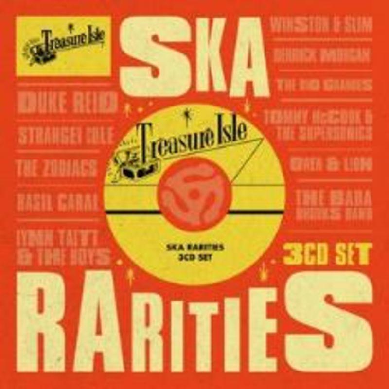 TREASURE ISLE SKA RARITIES (3 CD)