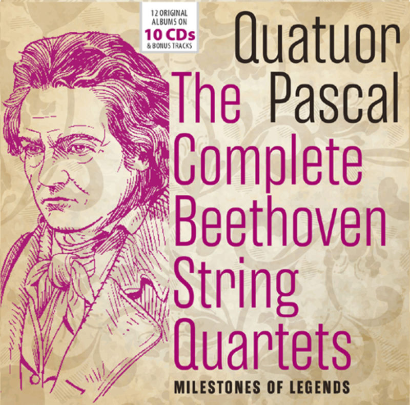 THE COMPLETE BEETHOVEN STRING QUARTETS (10 CD)