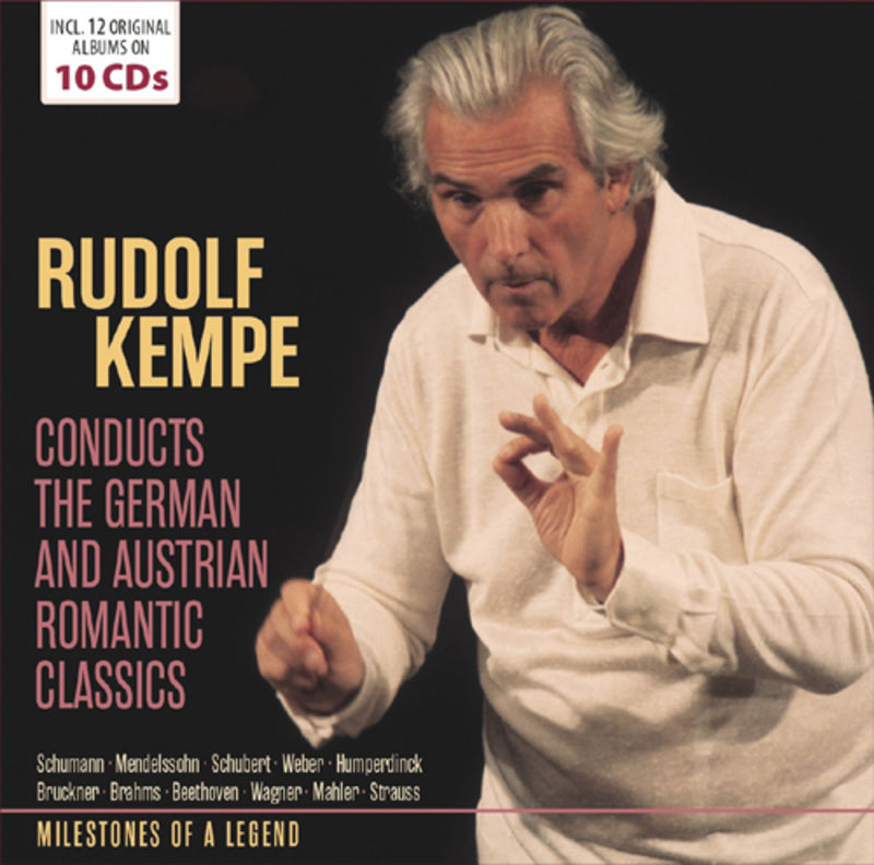 MILESTONES OF A LEGEND, CONDUCTS THE GERMAN & AUSTRIAN. .. . (10 CD) *