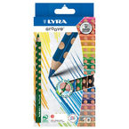C / 10 LAPICES COLORES GROOVE LYRA R: 3811100