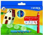 C / 12 Lapices Colores Groove Triple Lyra R: 3831120 -