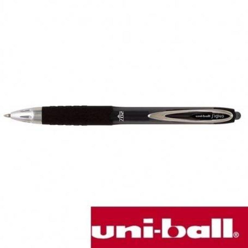 C / 12 ROTUL. UNI-BALL SIGNO 207F 0, 7MM NEGRO R: 17608000