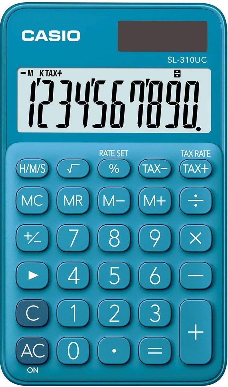 Calculadora Casio Sl-310uc Azul -