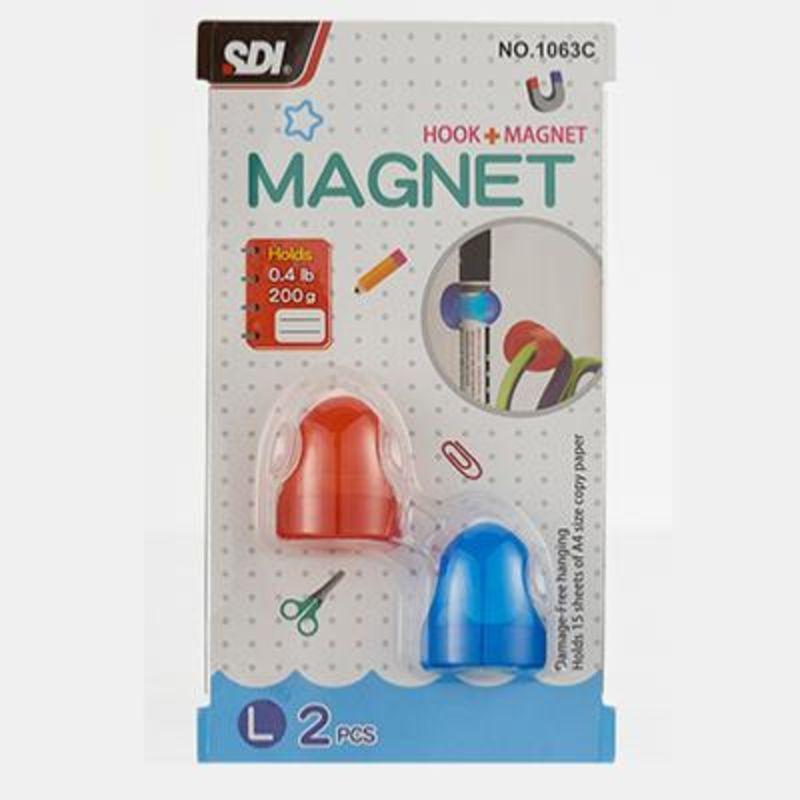 BLISTER 2 GANCHO MAGNETICO L R: 1063