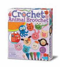 CROCHET ANIMAL BROOCHES R: 004M4669