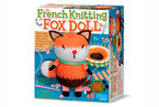 FRENCH KNITTING FOX DOLL R: 004M4682