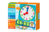 TELL TIME LEARNING CLOCK R: 004M4689