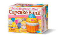 PAINT YOUR OWN MINI CUPCAKE BANKD R: 004M4700