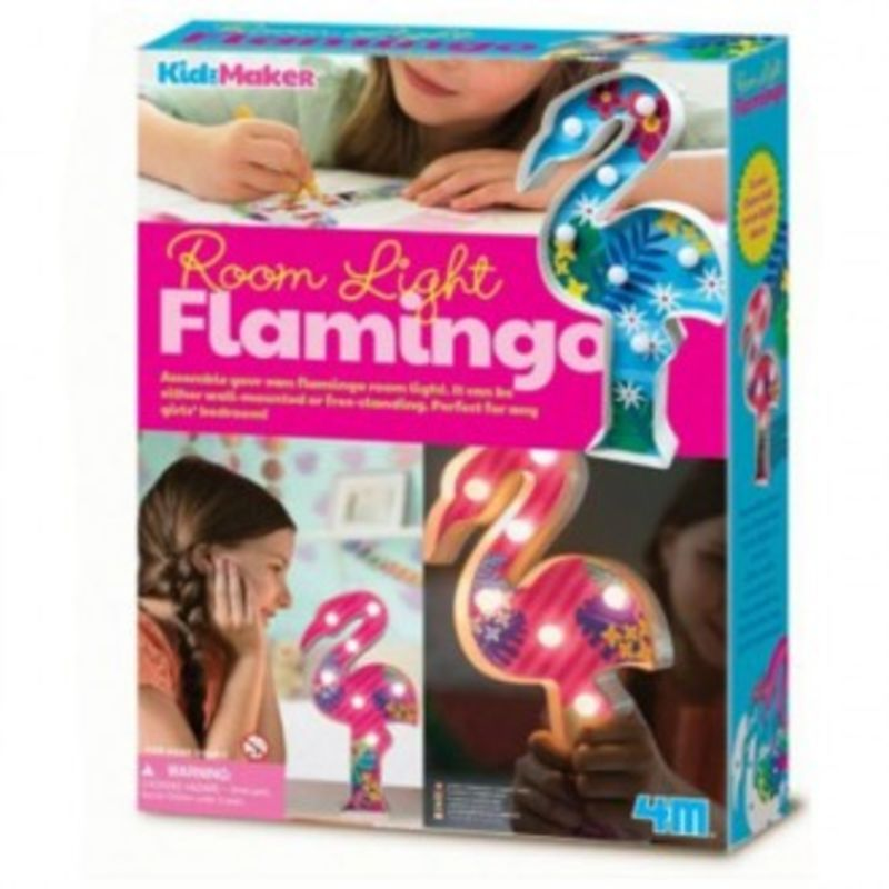 SET CREATIVO LUZ DE MESA FLAMINGO