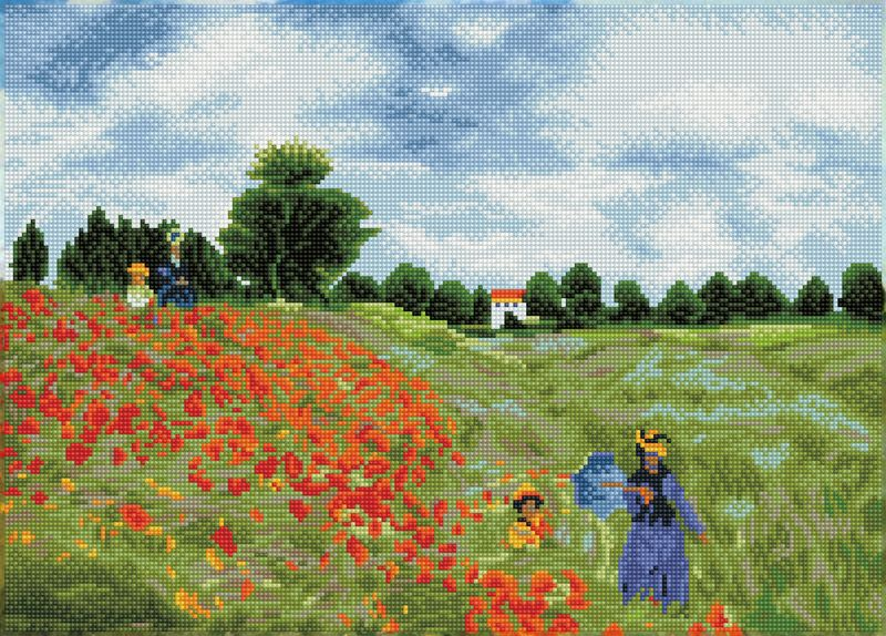 DD POPPY FIELDS (APRES MONET)
