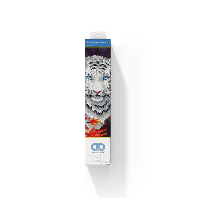 DD WHITE TIGER IN AUTUMN