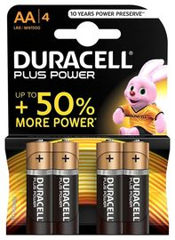 Blis / 4 Pilas Duracell Plus Power Lr06 Aa Mn1500 R: 0810119.0 -