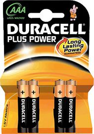 BLIS / 4 PILAS DURACELL PLUS POWER LR03 AAA MN2400 R: 0810120.0