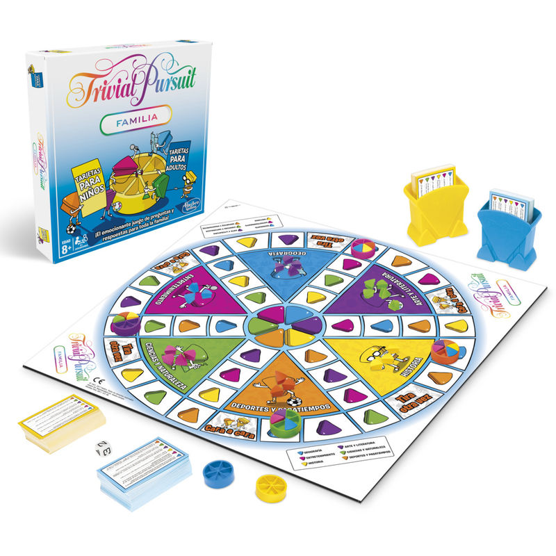 Trivial Pursuit Familia -