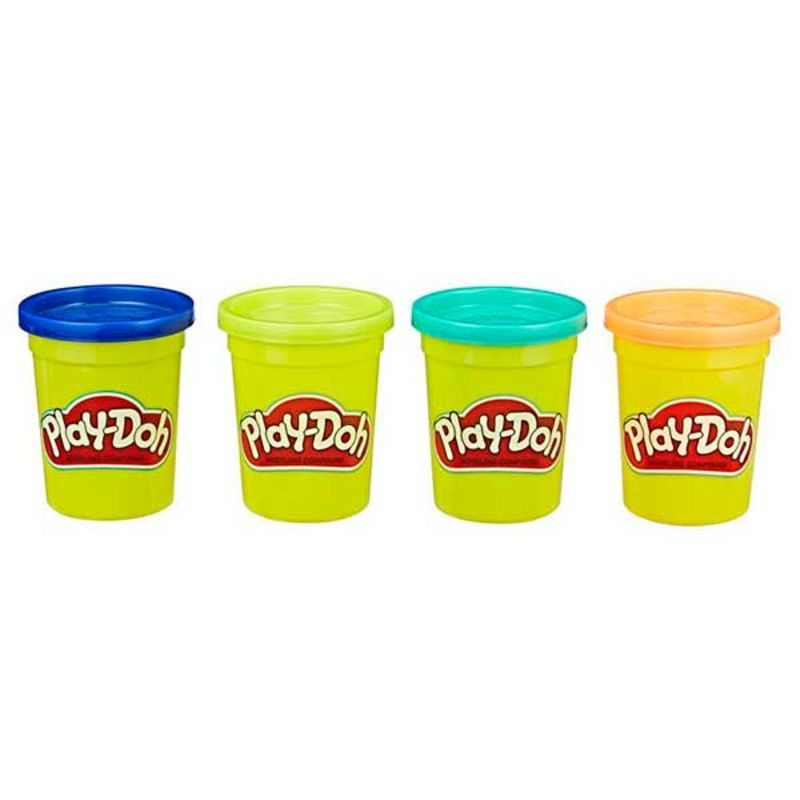 PLAY DOH * PACK 4 BOTES SURTIDO