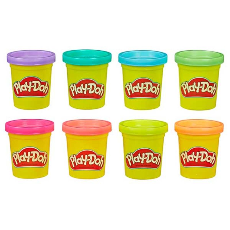 PLAY-DOH * PACK 8 BOTES