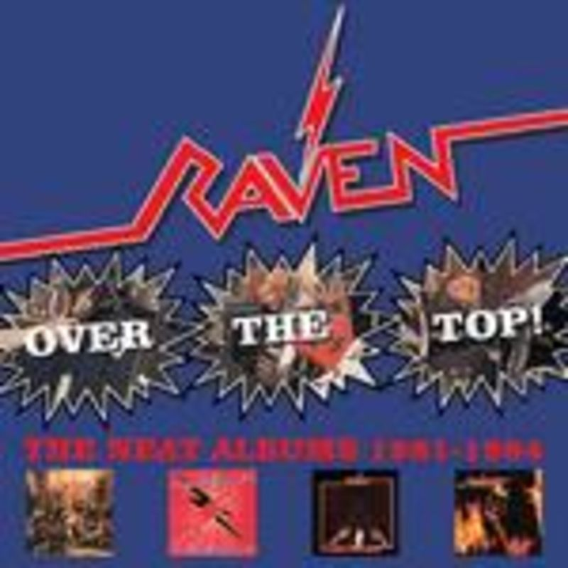 OVER THE TOP! THE NEWS ALBUMS 1981-1984 (4 CD)