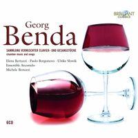 BENDA: CHAMBER MUSIC AND SONGS (6 CD) * MICHELE BENUZZI