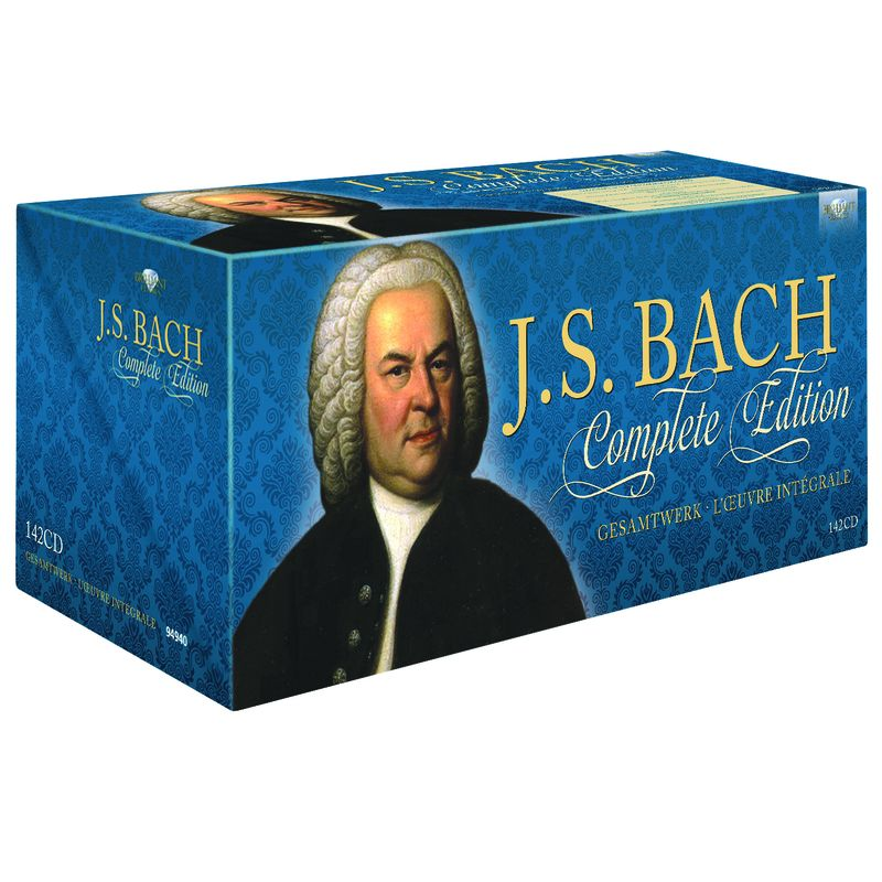 BACH: COMPLETE EDITION (142 CD)