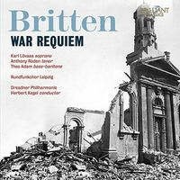 BRITTEN: WAR REQUIEM OP.66 (2 CD) * HERBERT KEGEL