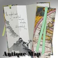 BOOKMARK - ANTIQUE MAP