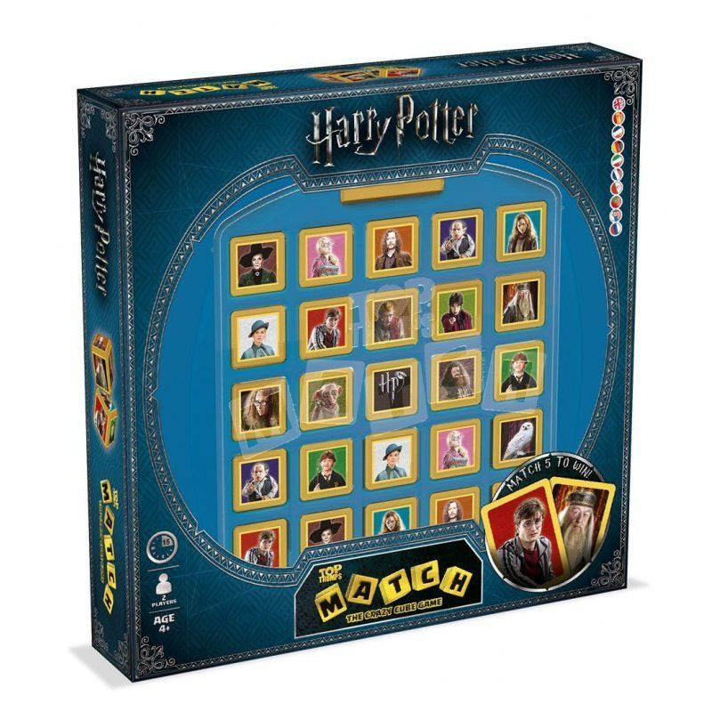 TOP TRUMPS MATCH HARRY POTTER R: 10469
