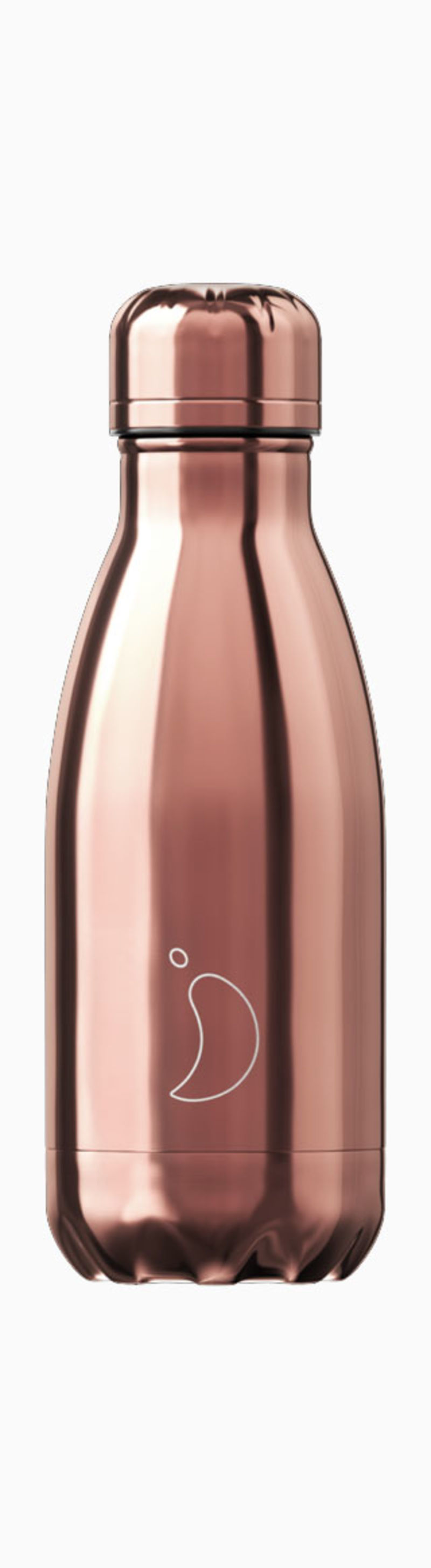 BOTELLA INOX TROPICAL ORO ROSA 260ML