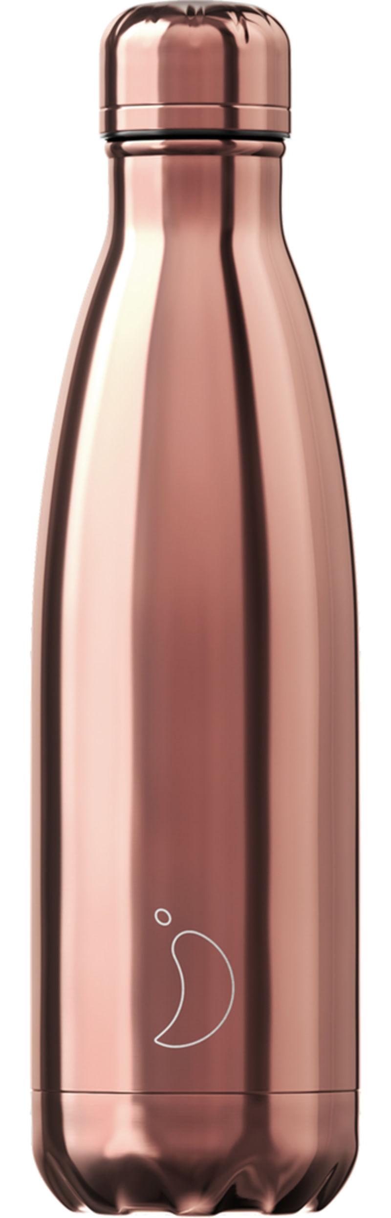 Botella Inox Tropical Oro Rosa 500ml -