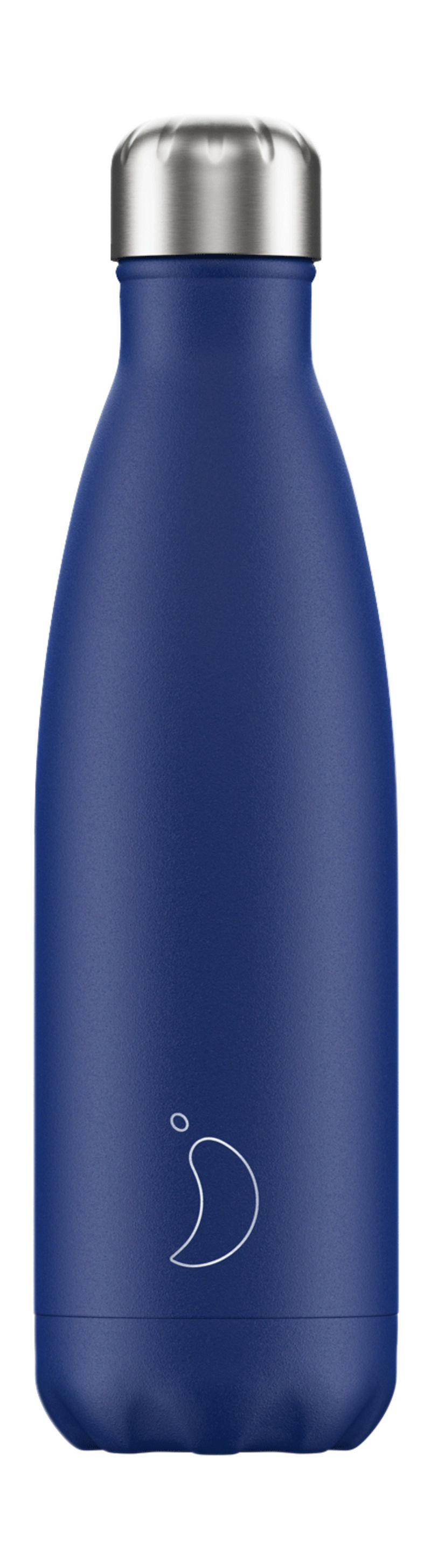 BOTELLA INOX AZUL MATE 500ML