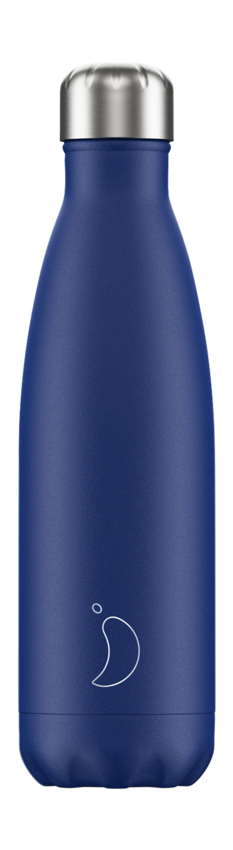Botella Inox Azul Mate 500ml -
