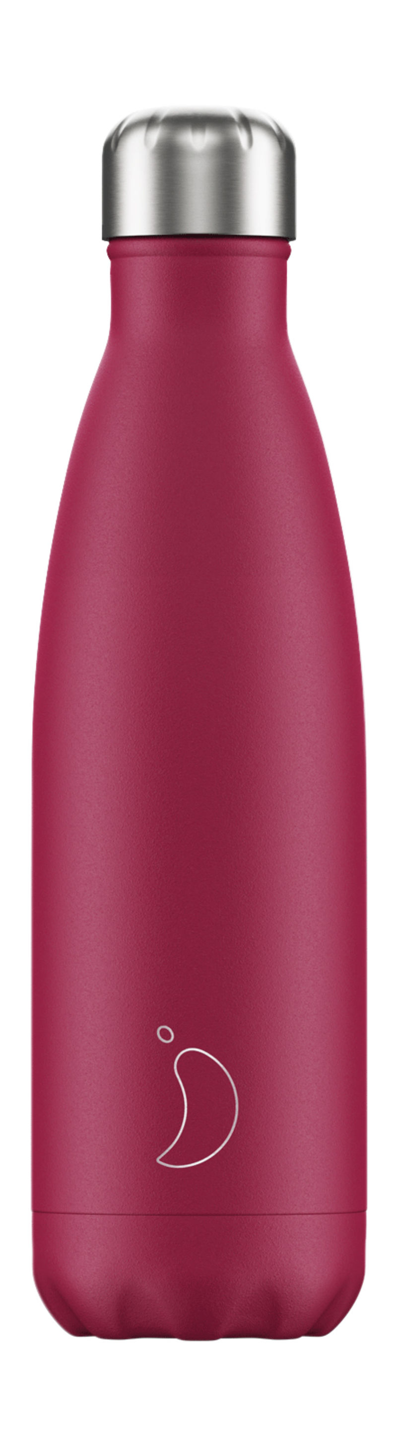 Botella Inox Fucsia Mate 500ml -