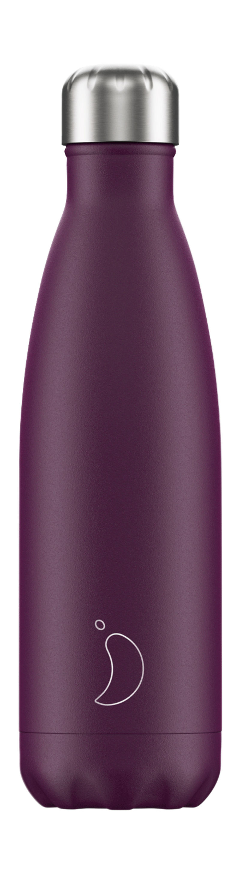 BOTELLA INOX PURPURA MATE 500ML