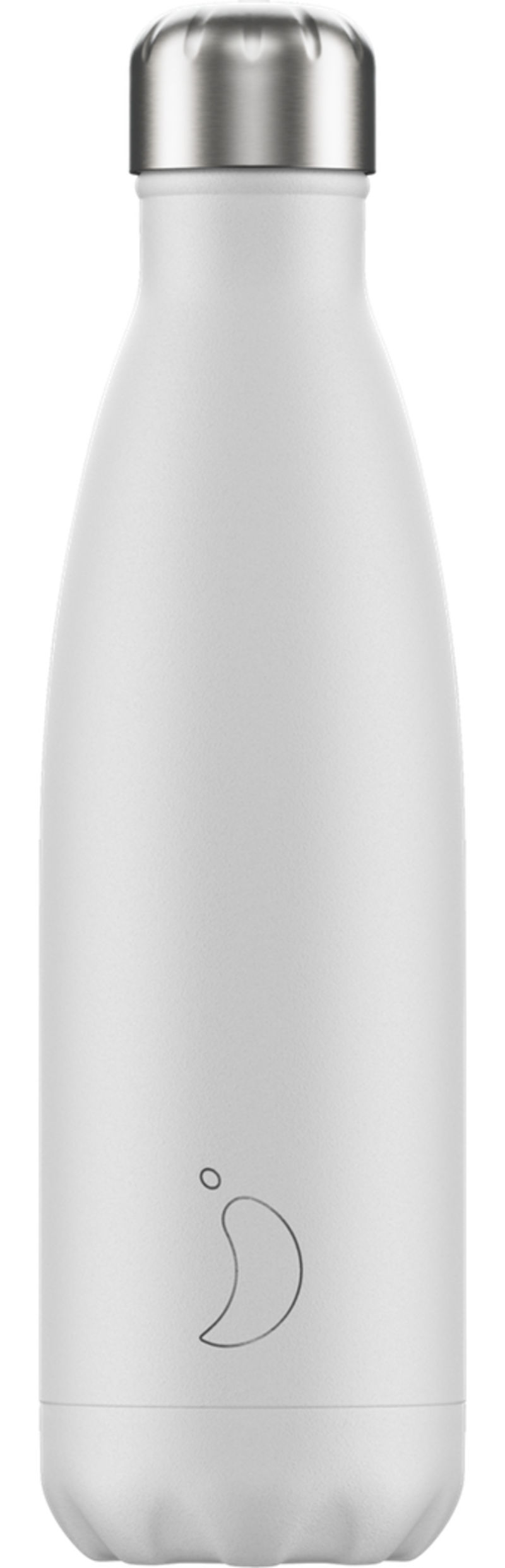 BOTELLA INOX BLANCO MATE 500ML