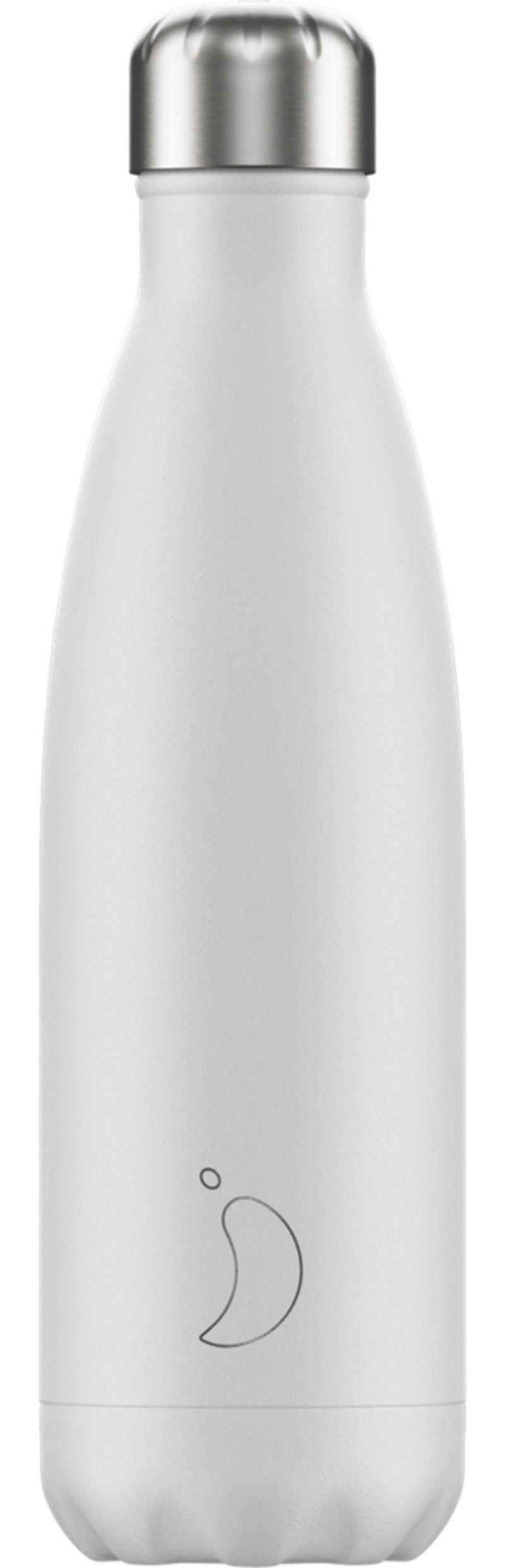 Botella Inox Blanco Mate 500ml -