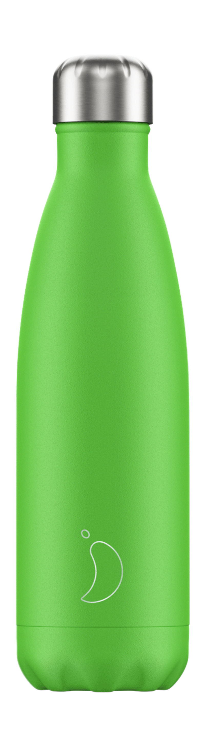Botella Inox Verde Neon 500ml -