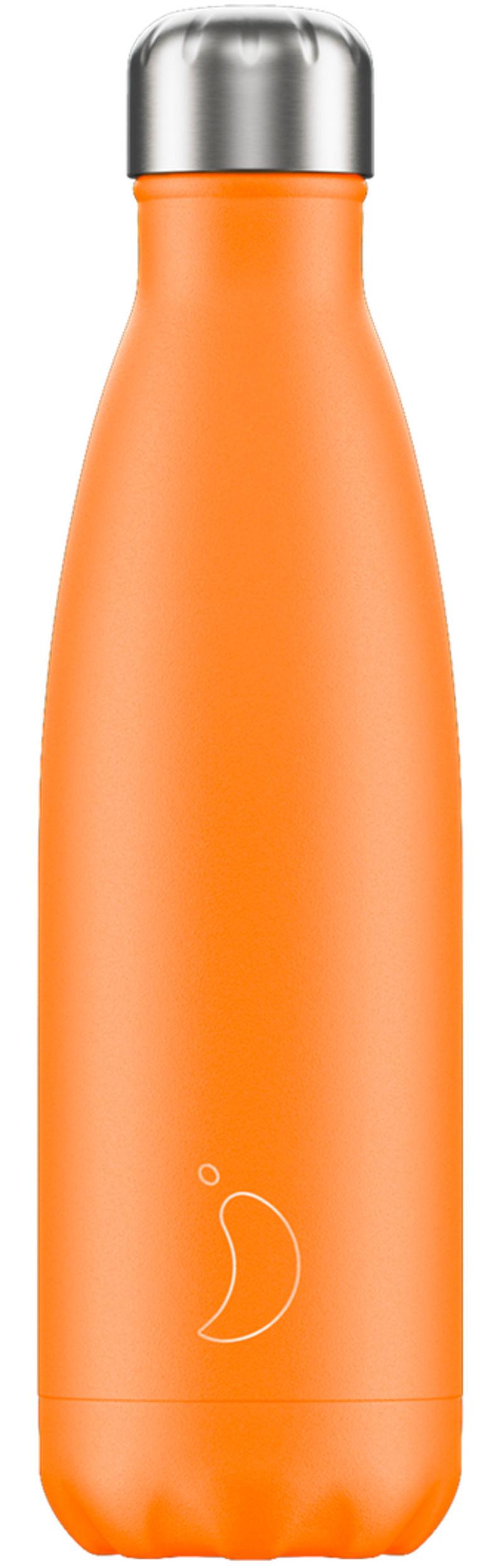 Botella Inox Naranja Neon 500ml -
