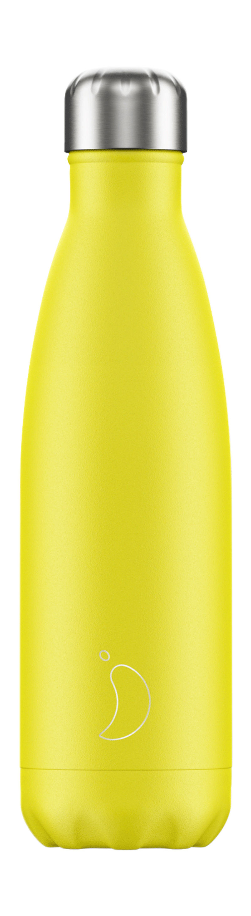 BOTELLA INOX AMARILLO NEON 500ML